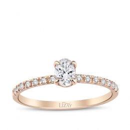 0.44 Carat Diamond Trend Ring