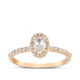 0.56 Carat Diamond Trend Ring