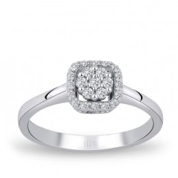 0.21 Carat Diamond Design Ring