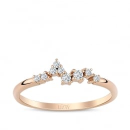 0.10 Carat Diamond Trend Ring