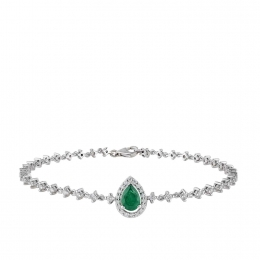 Diamond Emerald Bracelet