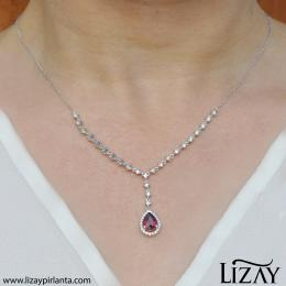 Diamond Ruby Pendant